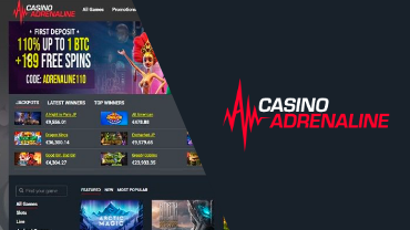 casino adrenaline review cover image bitfortuen
