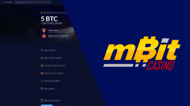 mbit casino review cover image bitfortune