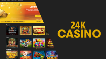 24k casino review cover image bitfortune