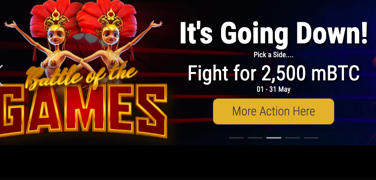 cryptothrills battle of the games promotions news